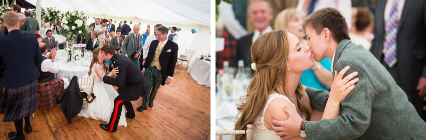 Danish/ Scottish Wedding