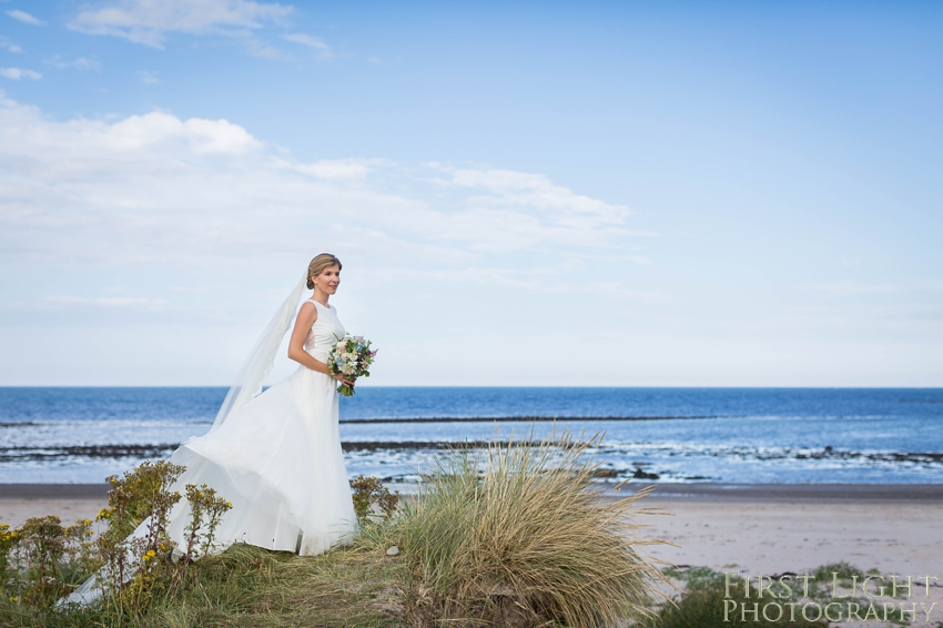 Silversands and Broxmouth Park wedding photography by First Light photography, Scotland