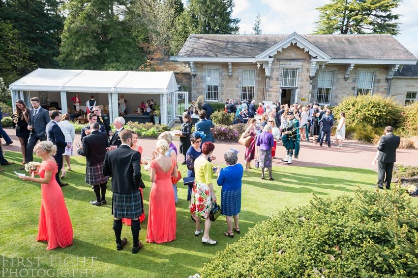 Edinburgh Botanics wedding