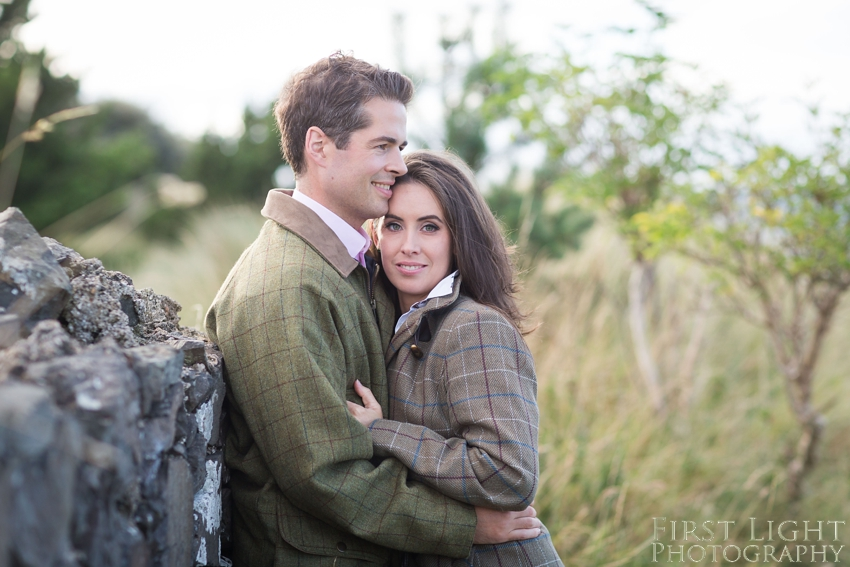 Engagement photos by First Light Photography Scotland