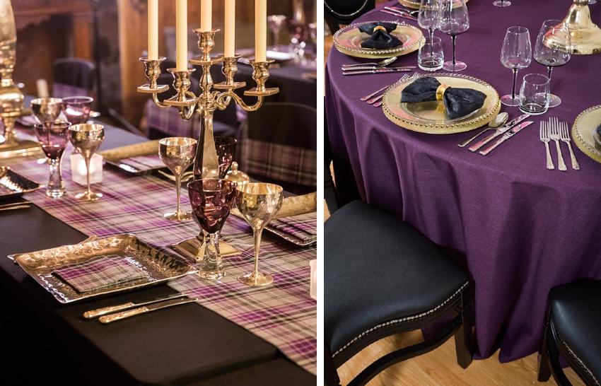 Image result for ultraviolet wedding decor